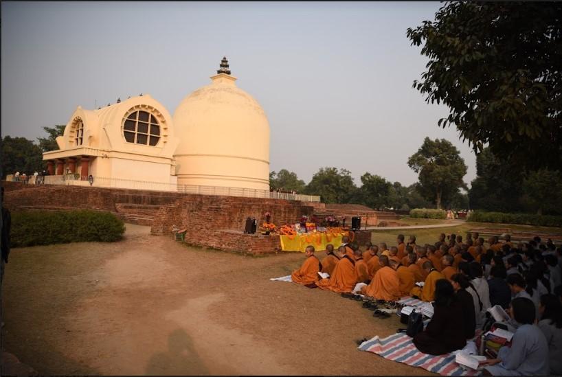 Kushinagar, Place Where The Buddha Passed Into Parinirvana